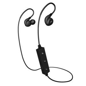 条件付き送料無料 Bluetooth イヤーフック型 ワイヤレスイヤホン BTE-A2000BK代引き・同梱不可 |cloudnic