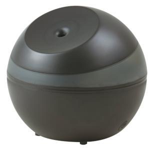 APIX アピックス 超音波式アロマ加湿器(木造2〜3畳/プレハブ洋室4〜6畳) 「LEDライト付」 ブラック AHD-063-BK