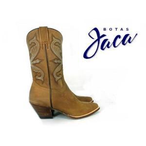 ハカ Botas Jaca 8008 PIEL CRAZY HORSE OKAWOOD ウエスタン ブーツ カウボーイ ブーツ (本革 )|cloudshoe