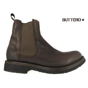 ブッテロ BUTTERO B4392 ALCIONE B4392 ダークブラウン カーフレザー|cloudshoe