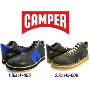 カンペール CAMPER BROTHERS BICI BLACK-065/KHAKI-066 33724-065/33724-066|cloudshoe