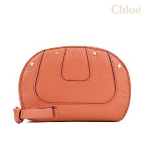 クロエ Chloe 3P0684 161 BGQ  WALLET HAYLEY ヘイリー ファスナー 財布 コンパクト財布 レッド 赤 レディース Clay Red|cloudshoe