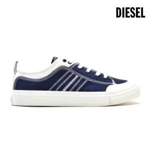 ディーゼル スニーカー ローカット ネイビー 紺色 メンズ Y01873 PR012 H7113 cloudshoe