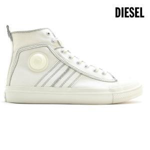 ディーゼル スニーカー ハイカット ホワイト メンズ Y01874 PR012 T1015 cloudshoe