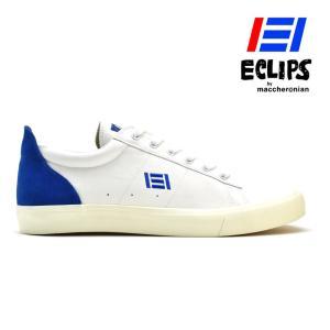 【ポイント15倍】エクリプス ECLIPS 42010 ブルー ホワイト ローカット カジュアル スニーカー レディース メンズ|cloudshoe