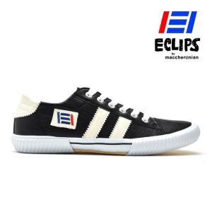 【ポイント15倍】エクリプス ECLIPS 42013 ブラック ホワイト 黒 白 カジュアル スニーカー メンズ|cloudshoe