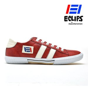 【ポイント15倍】エクリプス ECLIPS 42013 レッド ホワイト 赤 白 カジュアル スニーカー メンズ|cloudshoe