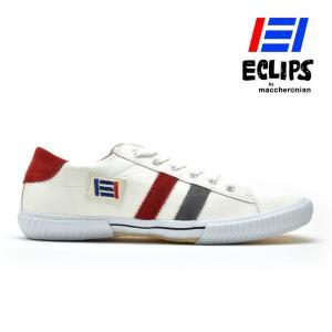 【ポイント15倍】エクリプス ECLIPS 42013 ホワイト グレー レッド 白 黄 青 カジュアル スニーカー メンズ|cloudshoe