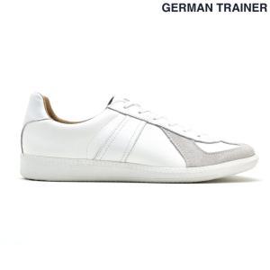 【ポイント15倍】ジャーマントレーナー GERMAN TRAINER 42000 WHITEオールホワイト 白 トレーニング カジュアル スニーカー メンズ レディース cloudshoe