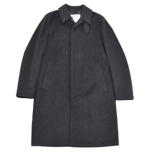 MACKINTOSH マッキントッシュ gm001f 4597 charcoal メンズ/ウールコート/ステンカラー/ロング/アウター 【SSMC】