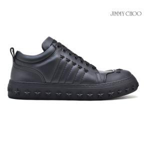 ジミーチュウ JIMMY CHOO CHASE チェイス スニーカー ローカット スタースタッズ ブラック 黒 BLACK メンズ|cloudshoe