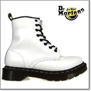 ドクターマーチン Dr.MARTENS 1460W 8EYE BOOTS11821100 r11821100 WHITE 8アイ ブーツ レディースサイズ|cloudshoe