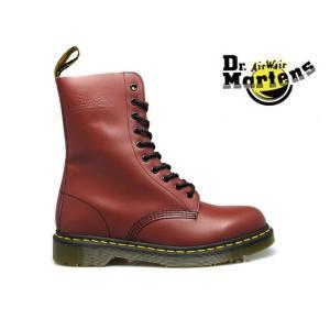 ドクターマーチン Dr.MARTENS 1490 10EYES  r11857600 CHERRY RED  10アイ ブーツ