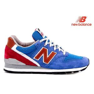 New Balance M996 BB Dワイズ ブルー/レッド/ブラウン ニューバランス MADE IN USA アメリカ製 青/赤/茶|cloudshoe