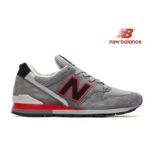 ニューバランス NEW BALANCE 996bsn DARK GREY/BLACK/RED ニューバランス 996bsn|cloudshoe