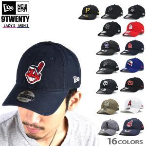 ニューエラ キャップ 9TWENTY メンズ レディース ブラック ネイビー レッド ブルー 帽子 NEW ERA MLB|cloudshoe