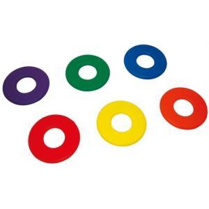 トーエイライト トーエイライト ソフトフォームリングディスク 6本1組(赤・青・黄・緑・オレンジ・紫 各1本) B-3077