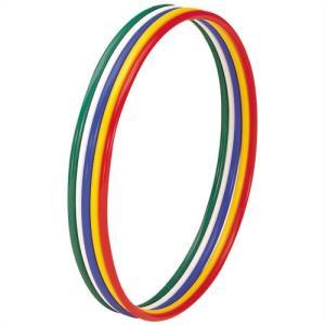 トーエイライト トーエイライト 体操リング40 T-2306 5色組(青・緑・赤・白・黄)