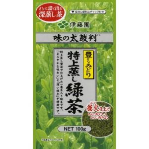 伊藤園 伊藤園 味の太鼓判 特上蒸し緑茶  銀 100g