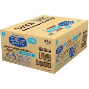 ペットライン メディコート アレルゲンカット 魚&お米 大粒 1歳から 成犬用 6kg(500g×12袋)