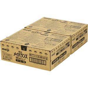 明治 【ケース販売】明治 メイバランス ミニカップ コーヒー味 125ml×24本