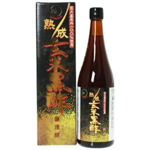 オリヒロ オリヒロ 熟成玄米黒酢 720mlの商品画像