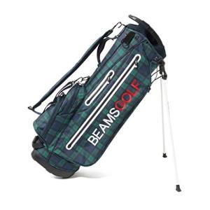 (ビームスゴルフ)BEAMS GOLF/バッグ キャディバッグ NEW スタンド キャディバッグ ブラックウォッチ メンズ B/W -|clover05