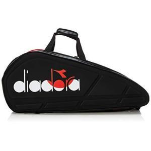 [ディアドラ] バドミントンラケットバッグ DTB9680 ブラック (99)|clover05