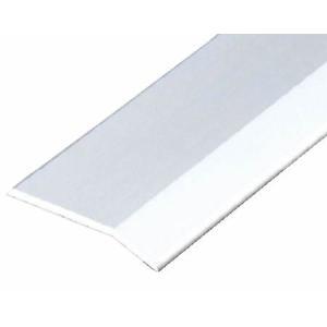 ####u.アシスト/Assist【20-112A-1 (2m)】床金物 への字押え アルミ製 穴無 シルバー仕上げの画像