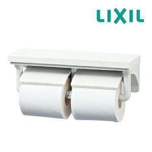 ∠▽《あすつく》◆15時迄出荷OK!πINAX【CF-AA64/BW1】棚付2連紙巻器 BW1ピュア...