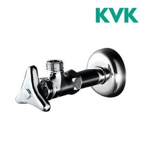 《あすつく》√▽◆15時迄出荷OK!KVK 水栓金具 アングル形止水栓(銅パイプ・ナットなし・固定こ...