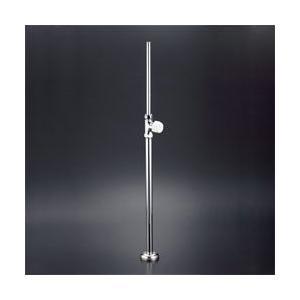 KVK 水栓金具ストレート形止水栓(ステンレス製給水管)【LK182L】