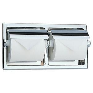 リラインス アクセサリー【R1976】2連ペーパーホルダー(ヨコ半埋込型)