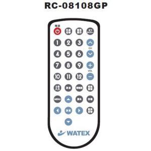 ##u.ワーテックス 浴室テレビ【RC-08108GP】地上デジタル防水テレビ用リモコン XL-718用