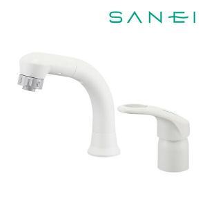 ▽《あすつく》◆15時迄出荷OK!π三栄水栓/SANEI 水栓金具【K37610EJV-13】シング...