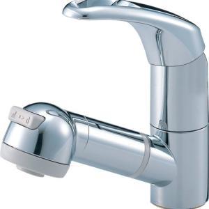 三栄水栓 水栓金具【K3763JV-C-13】シングルスプレー混合栓