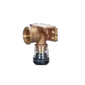 積水化学工業 エスロン【SMWL10W】エスロカチットS 両座付き給水栓エルボ 10×Rp1/2