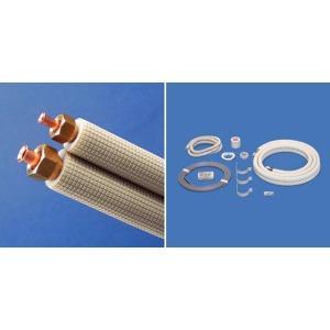 因幡電工(イナバ) 【SPH-F234V3】フレア配管セットSPH-V3対応冷媒:2種[4m銅管](銅管径6.35×9.52)|clover8888