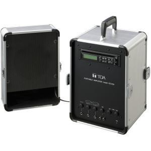 Яティーオーエー/TOA 音響機器【KZ-25A】移動用PAアンプ 20W スピーカー付の画像