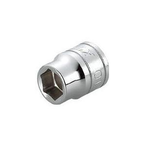 ■〒京都機械工具/KTC 9.5sq.ソケット(六角)10mm【B3-10】(3073599) 受注単位:1 clover8888