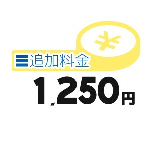 《追加料金・1250円分》離島の追加料金等【1250円】 clover8888