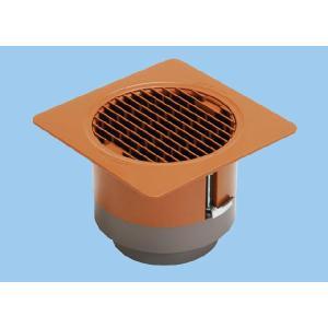 パナソニック換気扇部材【VB-GH100P-TA】ベンテック商品 薄形給排気グリル(床用)ブラウン