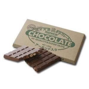 「商品情報」アーモンドを丸ごと板チョコレートに散りばめました。香ばしいアーモンドとミルクチョコレート...