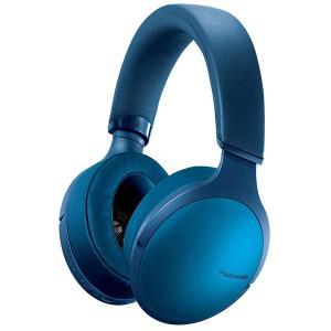 パナソニック 密閉型ヘッドホン ワイヤレス ハイレゾ音源対応 Bluetooth対応 マリンブルー ...