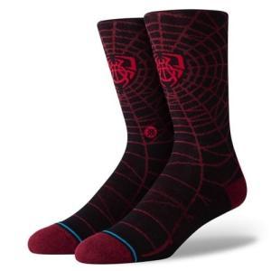正規品●STANCE スタンス●ソックス 靴下 ●Spida●L(25.5〜29cm)●送料無料|cloversurf