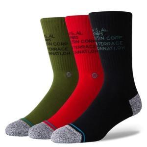 正規品●STANCE スタンス●ソックス 靴下 ●Corp 3 Of Kind●L(25.5〜29cm)●送料無料|cloversurf