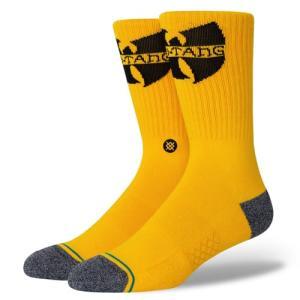 正規品●STANCE スタンス●ソックス 靴下 ●The WU YEL-Yellow●L(25.5〜29cm)●送料無料|cloversurf
