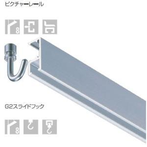 タキヤ コレダーライン G-2 2mセット レール5色 〈壁面タイプ/後付け用〉 推奨荷重8kg/軽量タイプ|clubestashop