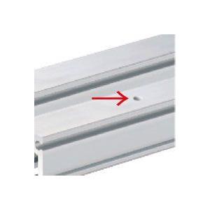 ピクチャーレール穴あけ加工 取付けビス用の穴あけ承ります 加工サイズ 3〜4m|clubestashop