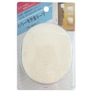 東京防音 防音すきまテープ ホワイト TP-200 2本